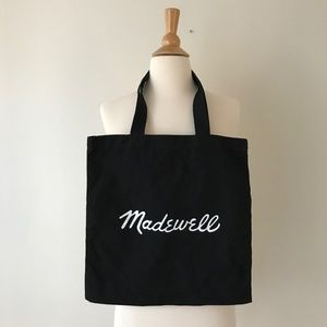 Lot of 2 Madewell Canvas Tote Bag
